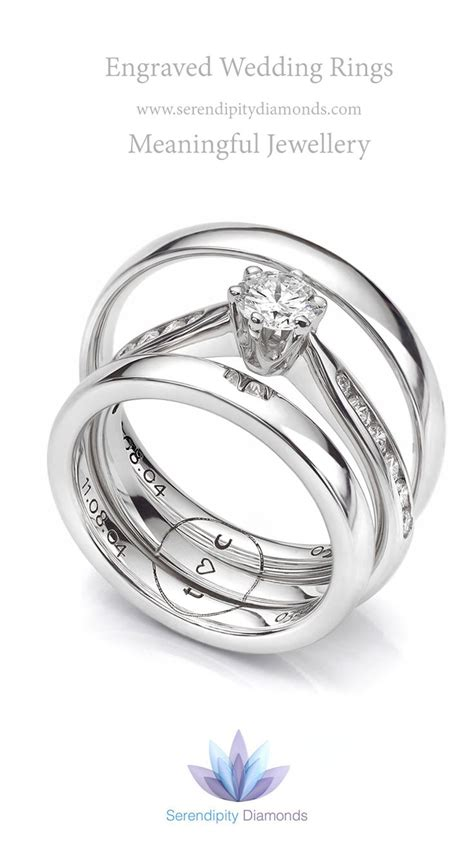 1000 ideas about wedding ring engraving on