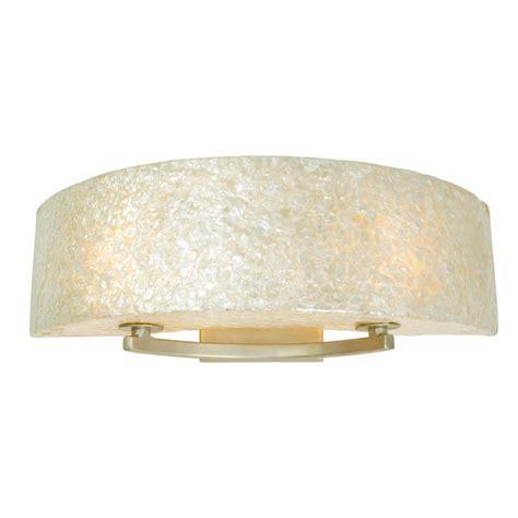 Gold Vanity Light Varaluz Radius 2 Light Gold Dust Bath Vanity Light With Crushed Capiz 173b02a The Home