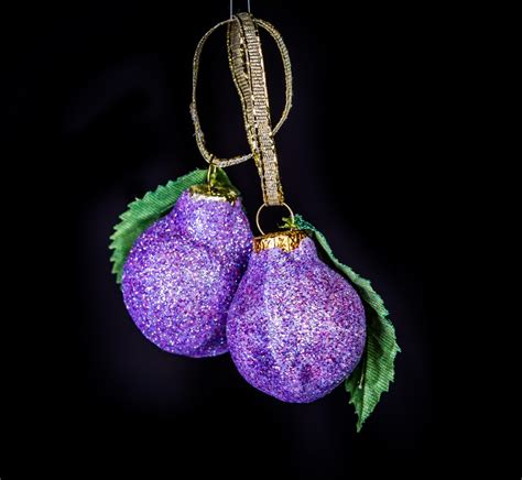 sugar plum ornaments eb ornaments