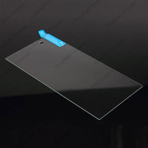 Tempred Glass Sony Experia Z1 jiizii glass 9h anti shatter 0 26mm tempered glass screen protector for sony xperia z1