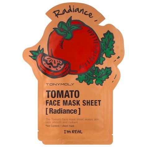 Masker Tony Moly I M Real normal tony moly i m real tomato mask sheet korean