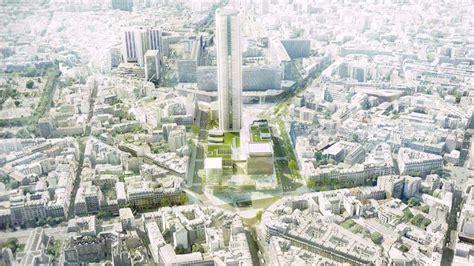 De Montparnasse Its Time by Une Nouvelle Fa 231 Ade Pour La Tour Montparnasse Projets