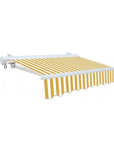 Tenda Da Sole Per Balcone by Tenda Da Sole Per Balcone Bianco Giallo 3x2 5mt Con