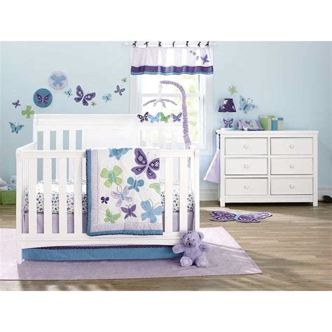 Butterfly Nursery Bedding Set Walmart Bed Sets For Home Furniture Design