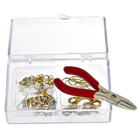 gold gold jewelry repair kit with accessories