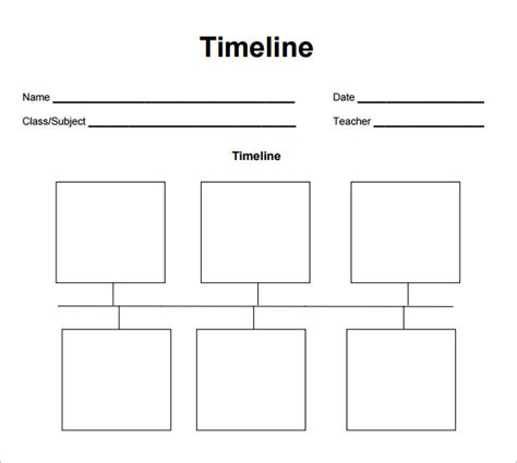 fill in timeline template free biography timeline