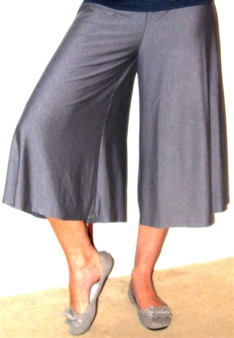 knit culottes grey knit culottes sewing projects burdastyle