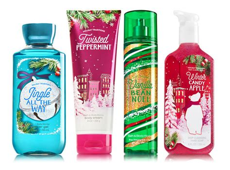 bath body works holiday traditions fragrance collection