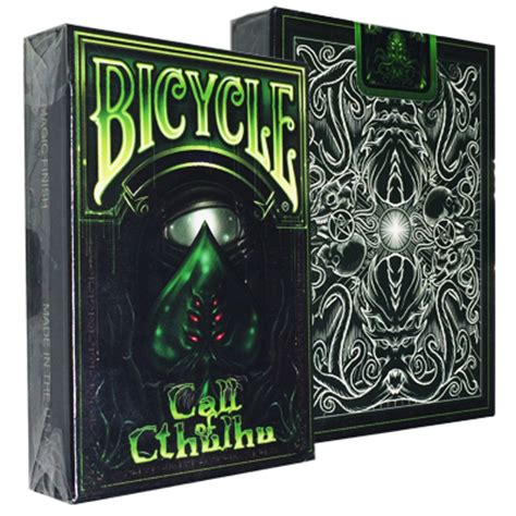 Kartu Remi Bicycle Giants kartu bicycle call of cthulhu deck green limited edition