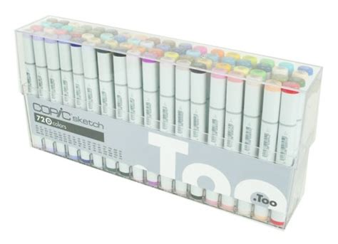 Spidol Warna Copic Sketch Marker jual copic sketch marker set 72 a b c d bitz