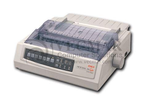 Printer Oki Microline 390 Turbo 24pin Bekas okidata 390 turbo 62411901 printer