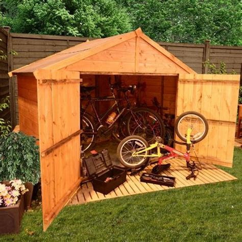 Buy Bike Shed by Buy Billyoh 300 4 X 6 Apex Tongue And Groove Bike Store