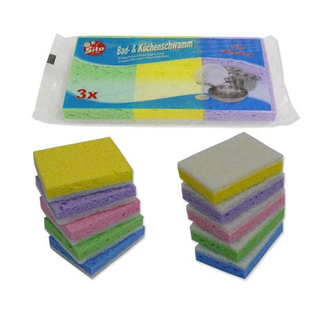 bathroom cleaning sponge cellulose sito