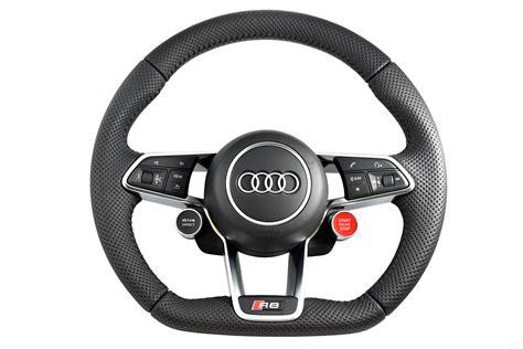 audi steering wheels audi r8 2017 multifunction steering wheel flat bottom with