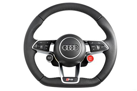 Audi Lenkrad by Audi R8 2017 Multifunction Steering Wheel Flat Bottom With