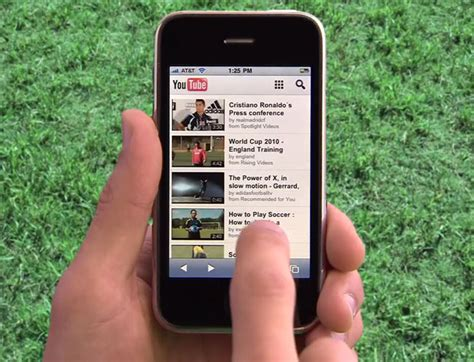 youtube moblie youtube launches html5 mobile website