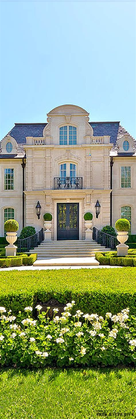 french chateau architecture french chateau style residential estate and formal garden