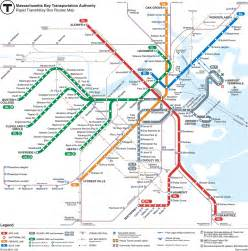 Mbta Boston Map by Subway Metrobabel