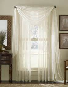 Window Sheer Curtains Drape A Curtain Scarf Curtain Design