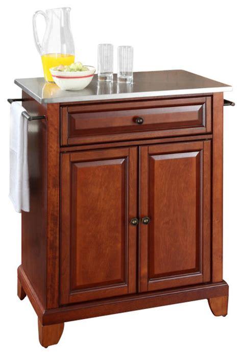 crosley furniture alexandria stainless steel top portable crosley furniture newport 28x18 stainless steel top