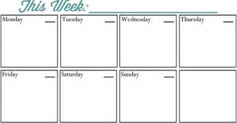 weekly planner printable all those detailsall those details