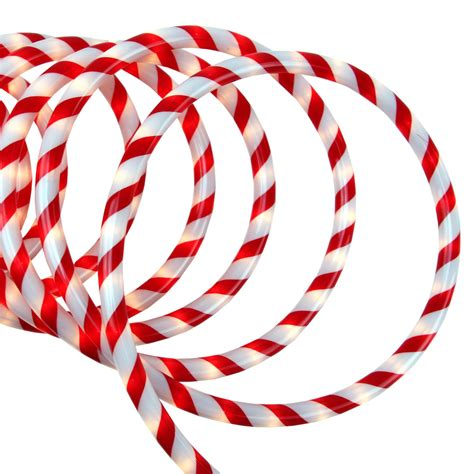 sienna 18 red and white candy cane indoor outdoor