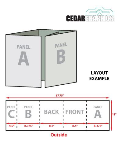 5 fold brochure template gate fold brochure template business