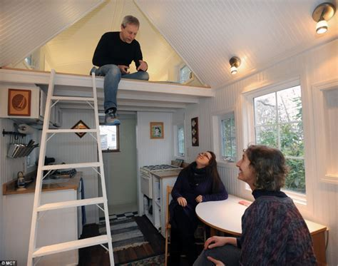 Couple give up their home to live the simple life in tiny