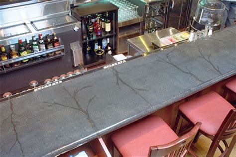Cement Bar Top by Concrete Bar Tops Indoor Pub And Bistro Tables