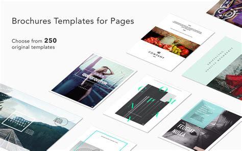 brochures templates for mac 250 plantillas para pages por menos de un euro trucos apple