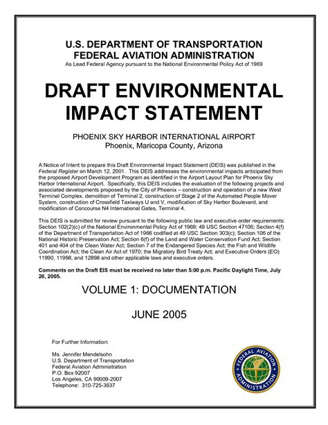 environmental statement template exles of environmental impacts related keywords
