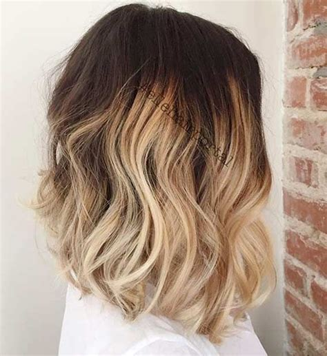 how to do medium length ombre hair 1000 ideas about shoulder length ombre hair on pinterest