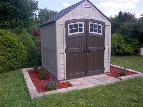 Suncast Sutton Shed by Suncast Sheds Storage Sutton 7 Ft 3 In X 7 Ft 4 5 In