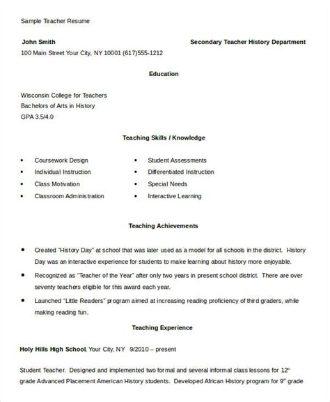 docs templates for teachers resume format teachers doc resume ixiplay free resume
