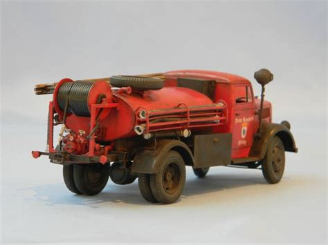 opel truck 1 24 opel blitz fire truck italeri my models pinterest