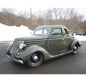 Woodward Bound Old Build 1936 Ford Five Window Hot Rod