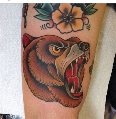 130 cute bear tattoos and meanings may 2018 part 4