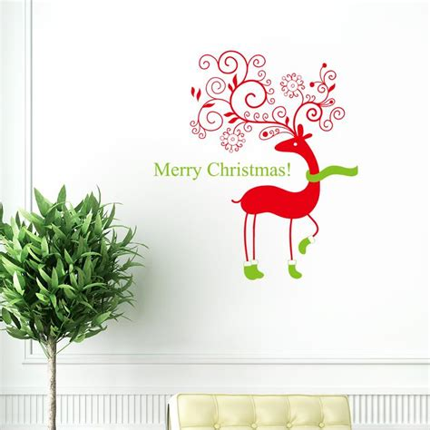 merry wall sticker merry wall stickers decorations