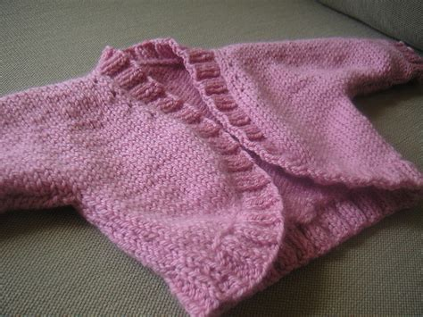 baby shrug knitting pattern free and easy baby knitting patterns