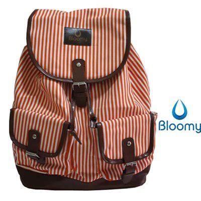 Tas Leather Anak Kuliah Ransel ransel bloomy rucksack tas sekolah tas kuliah