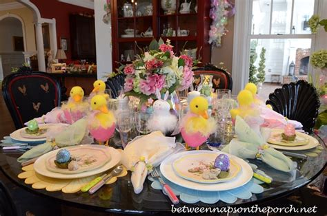 12 tablescape ideas for the prettiest easter brunch ever easter table settings tablescapes