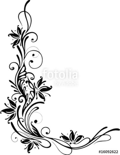 Muster Ornamente Vorlagen Quot Blumen Ornament Floral Muster Bl 252 Te Quot Stock Image And Royalty Free Vector Files On Fotolia