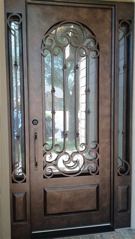 exterior wrought iron doors 25 best ideas about iron doors on iron front