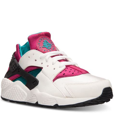 Nike Sport Line Pink nike s air huarache run running sneakers from finish