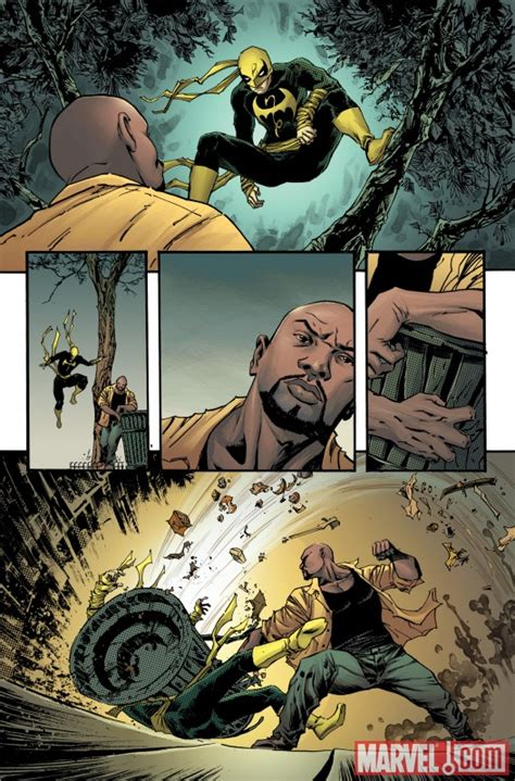 luke cage enters shadowland in thunderbolts 148
