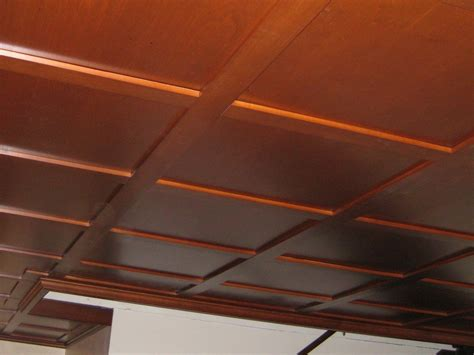 Rustic Drop Ceiling Tiles by Coffered Ceiling Styles Of Woodgrid