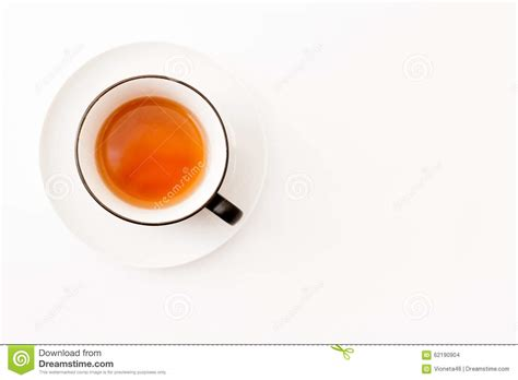 best tea cup white tea cup white background top view stock photo