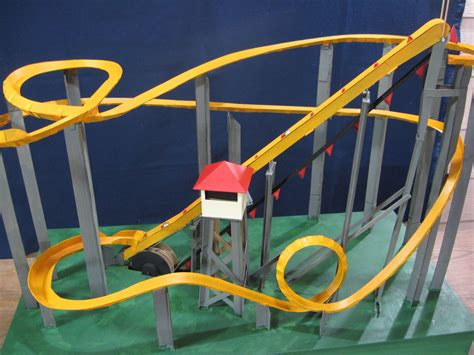 How To Make A Paper Roller Coaster Step By Step - motorized marble roller coaster