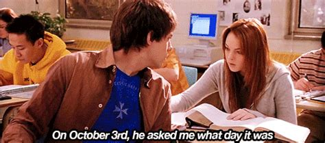 October 3rd Meme - on wednesdays we wear pink top 20 mean girls quotes