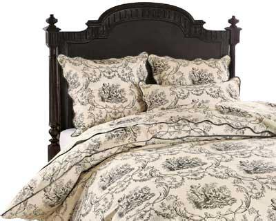10 objets en toile de jouy linge de lit quot escarpolette